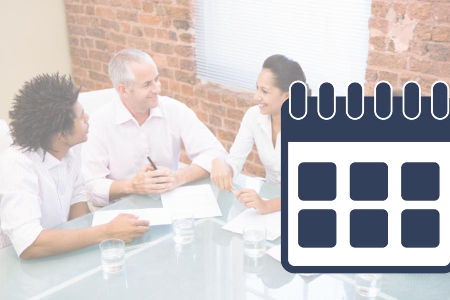Ethics and Boundaries Training Calendar