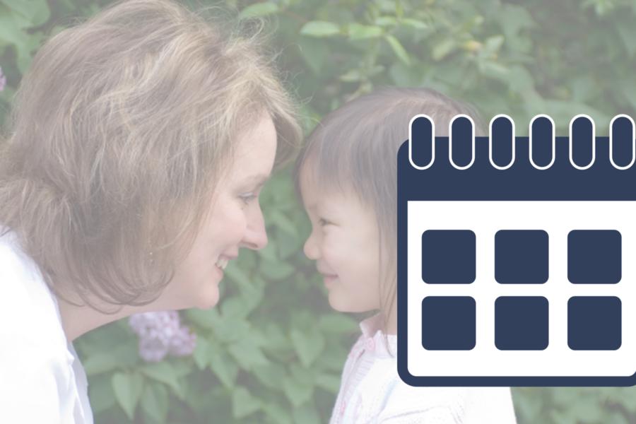 Foster Parent Training Calendar