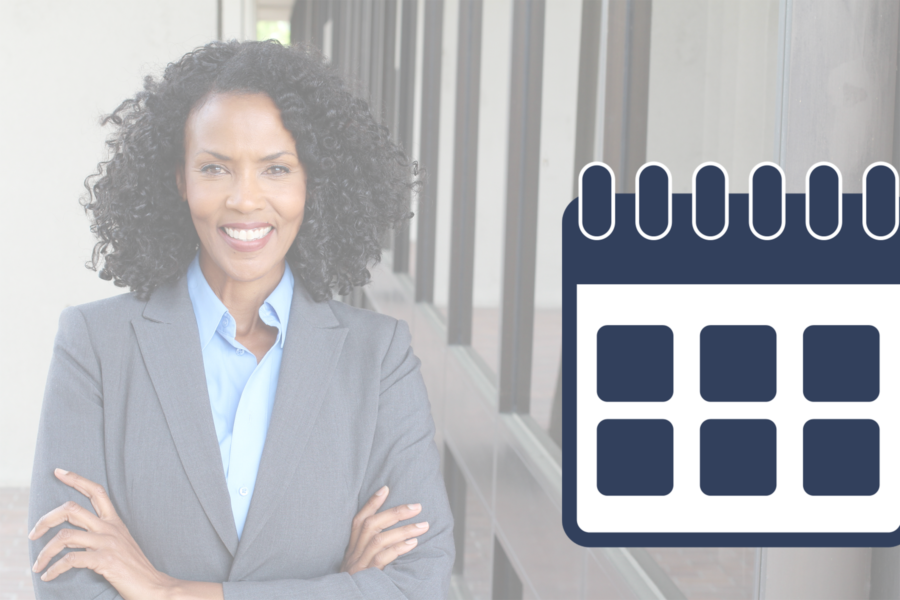 Calendar for Directors Training link